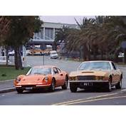 PERSUADERS TONY CURTIS AND RODGER MOORE AKA JAMES BOND IN COOL CARS
