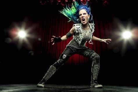beauty profile  alissa white gluz vocalist  headbangers lifestyle