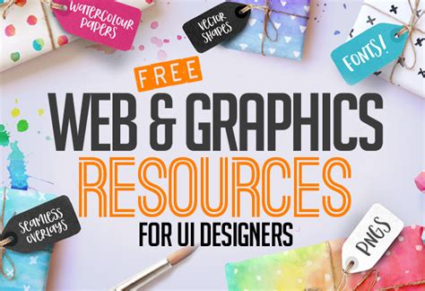 design free resources 36 free web graphic design resources for ui designers