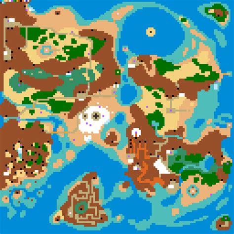 legend of zelda map sprites zelda 2