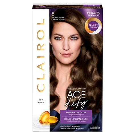5 best hair color shades for middle aged women diy life clairol age defy expert collection hair color 8a medium