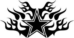 dallas cowboys flaming star 788rbdi