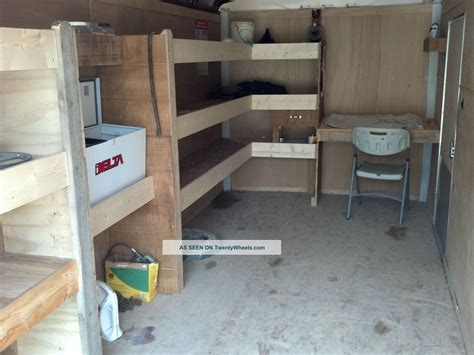 enclosed cargo trailer shelving ideas motorcycle review
