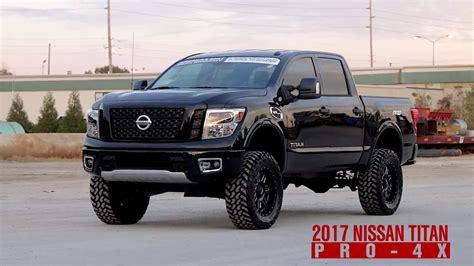 nissan titan black on black 2017 nissan titan pro 4x black vehicle profile www