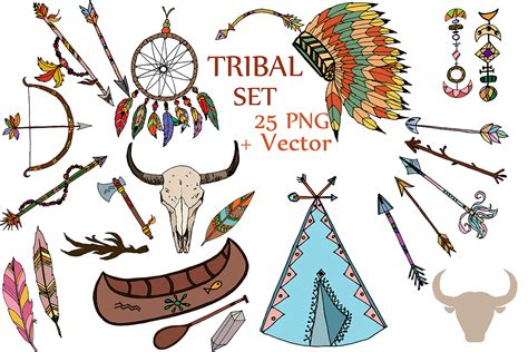 tribal clipart tribal clipart tribal clip headdress clipart feather