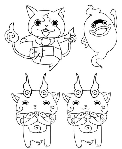 coloring pages of yokai yokai coloring pages coloring pages