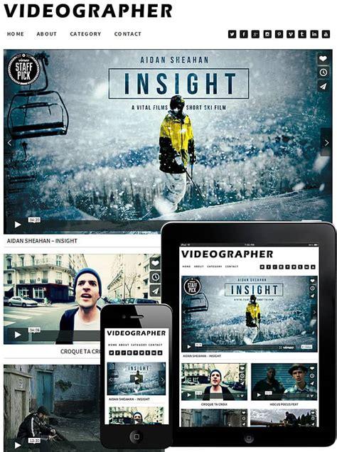 theme movie editor videographer wordpress theme best wordpress themes for