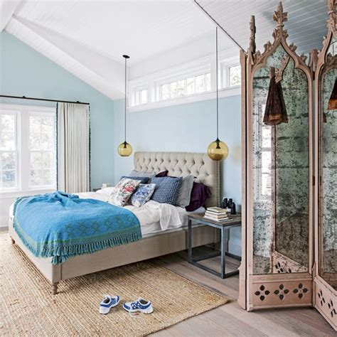 sky blue bedroom sky blue bedroom with distressed furniture decorating