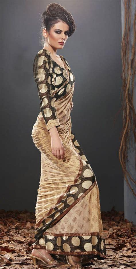 Sari And Gold black gold sari indian couture