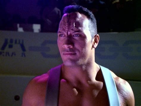 dwayne the rock johnson voyager 10 famous actors who played star trek aliens