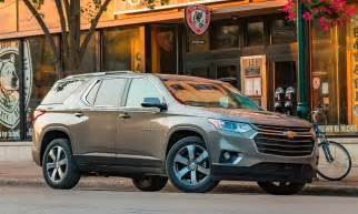 chevy traverse colors 2018 chevrolet traverse review kelley blue book