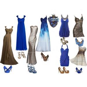 Harry Potter House Decor ravenclaw yule ball polyvore