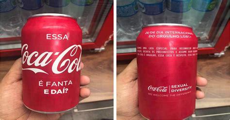si鑒e coca cola latinha especial contra o preconceito essa coca cola 233