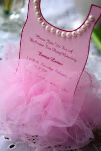 a loveliness ballerina tutu invitation