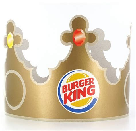 Burger King Crown Template burger king paper hat takin it back