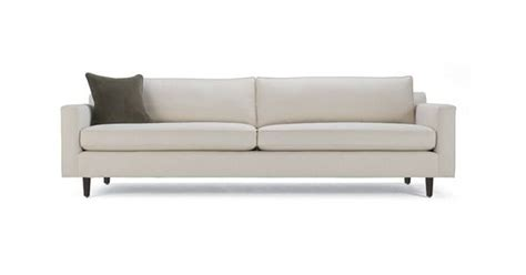 mitchell gold hunter sectional midcentury modern sofa style home decor pinterest