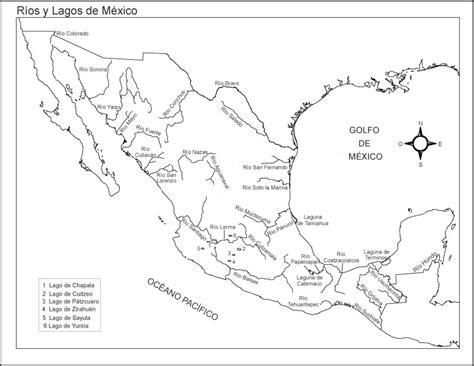 mapa de mexico con rios nyfiken geogr 225 fico hidrosfera