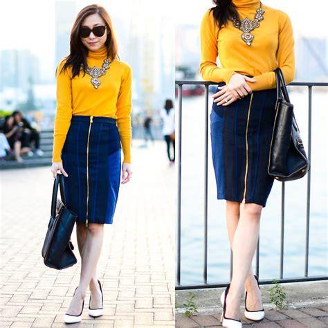 Zara Club w zara club monaco pencil skirt c 233 line charles keith pumps sunset lookbook