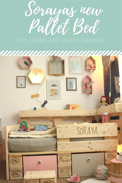 diy kinderbett 17 best ideas about palettenbett selber bauen on