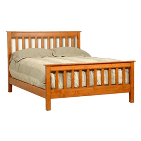Mission Style Bed Frames Mission Style Bed Solid Wood Bed Frames Robinson Clark
