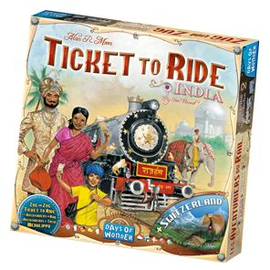 Ticket To Ride Germany Original Board ticket to ride india a board expansion by alan r