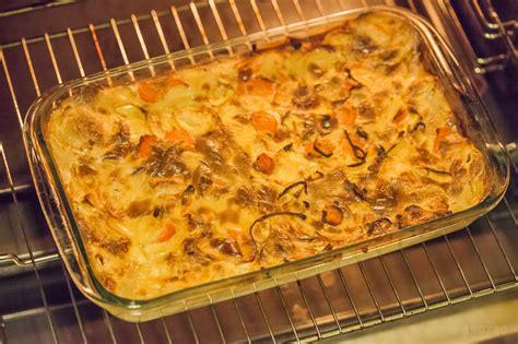 panais cuisine recette de gratin de carottes et panais charles cuisine