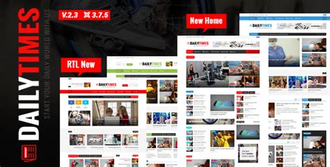 theme newspaper joomla dailytimes news and magazine joomla template by tripples