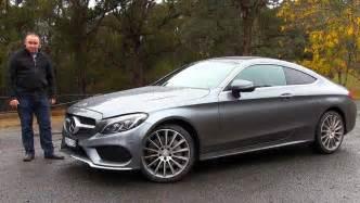 2016 mercedes c class coupe review australian