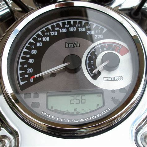 Harley Davidson Tachometer by Harley Davidson Combination Analogue Speedo Tacho 5 Quot For