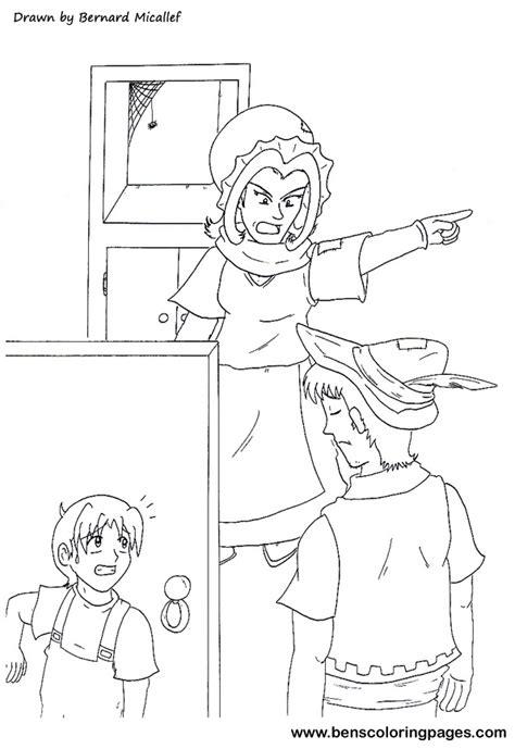 printable version of hansel and gretel hansel and gretel free coloring pages on art coloring pages