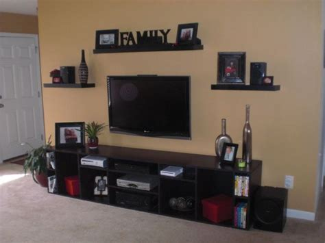 Living Room Entertainment Center Ideas Entertainment Center Ideas Entertainment Center Out Of Mdf And Gave It A Faux Magohney