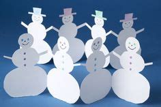snowman paper chain template on paper chains felt snowman and
