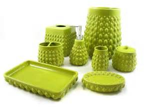windsong lime green bath accessories