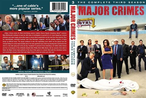 Major S3 major crimes season 3 dvd covers and labels