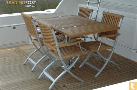 marine deck chairs australia teak line deck chair tl880 for sale in runaway bay qld