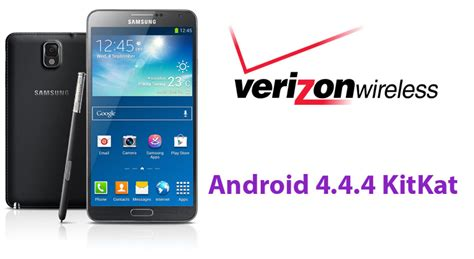 how to update android to 4 4 how to install android 4 4 4 kitkat update on galaxy note 3 verizon sm n900v naldotech