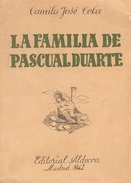 the family of pascual the family of pascual duarte wikipedia