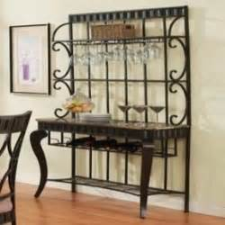 Wrought Iron Bakers Rack With Wine Rack Wrought Iron Bakers Rack With Wine Rack Foter