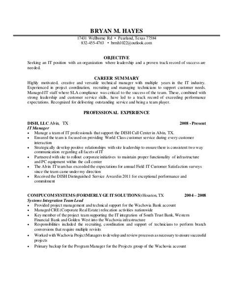Hays Resume Advice Bryan M Resume 2016