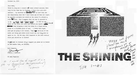 poster design notes rejected the shining poster designs from saul bass with