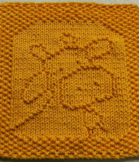 knitting pattern with animals motifs on free knitting pattern for belle the cow was cloth or bib