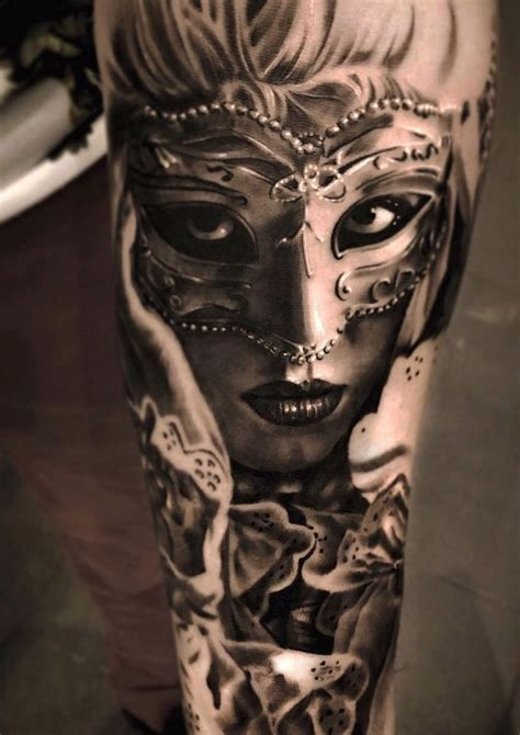 most beautiful tattoos 30 of the most beautiful and mysterious venetian mask