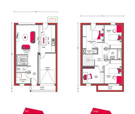 etag鑽e bureau cheap votre with plan maison etage 4 chambres 1 bureau