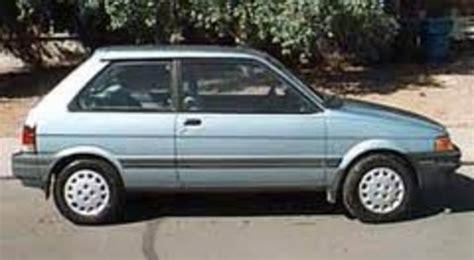 service manual car repair manuals download 1991 subaru justy parking system service manual