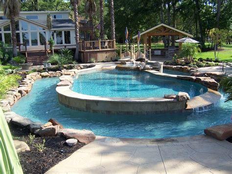backyard inground pool designs 1000 ideas about semi inground gogo papa