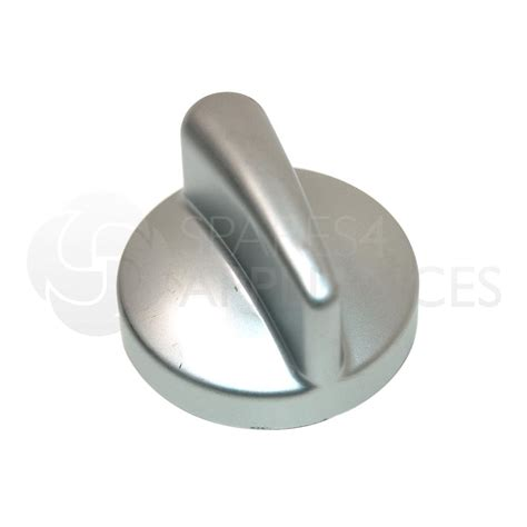 genuine belling oven cooker silver knob 082565307