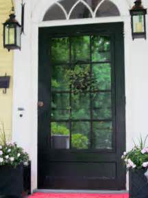 melinda interiors black front door