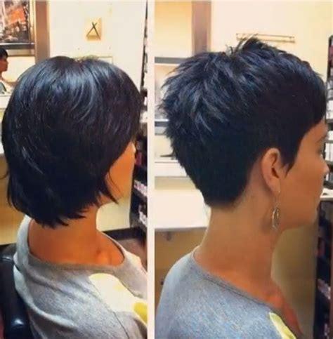 stacked bob pixie haircuts 25 best brunette pixie cut ideas on pinterest