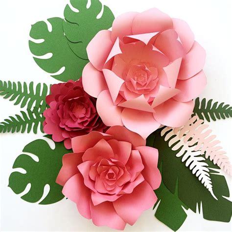 hawaiian paper flower tutorial 25 best ideas about paper leaves on pinterest felt