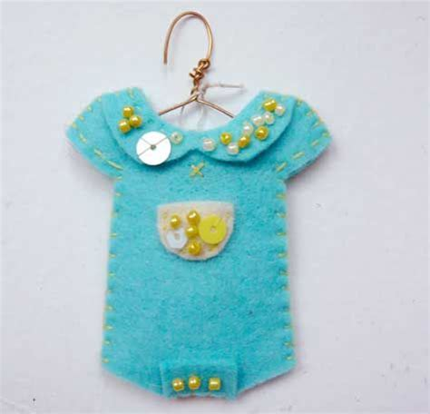 Handmade Baby Ornaments - 17 best images about felt tiny clothes on